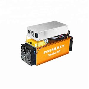 Innosilicon T2 Turbo + PSU BTC 24TH/s