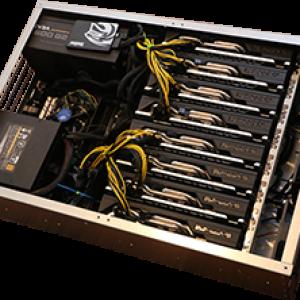 Nexus ZEC Mining Rig 2.4KH/s