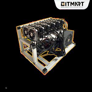 Zodiac 6-1060 GPU Mining Rig ZEC 1686H/s